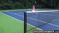 16494 Tiny Ebony Tennis Player Rough Missionary Sex After Lost Match , Msnovember Big Boobs Riding Stranger After Losing Bet On HD Sheisnovember preview