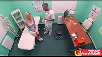 Busty Young Wife Cheating with Doctor thumbnail