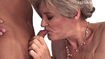 Busty housewife real couple sex preview image