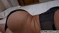 11020 Hot step mom slides into son's bed for sex preview