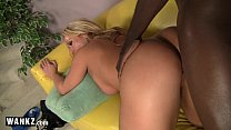 WANKZ - Busty Blonde Craves A Big Black Cock! preview image