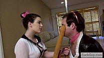 Sissy cuckold humiliated by Jenna Reid