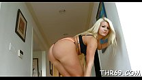 Dudes gigantic male rod is making babe very moist down beneath