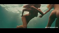 Kelly Brook Riley Steele Jessica Szohr in Piranha 2010 video