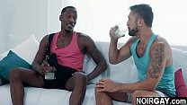 Married black and white friends interracial gay sex