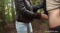 busty Milf picked up for outdoor sex Vorschaubild