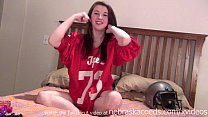 fucking hot college football fan double penetration anal beads pink parts dp