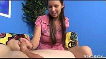 Cute Teen Having Fun Alone With Vibrator