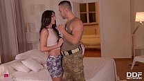 soldier & husband double penetrate horny wife alexa tomas until she screams ~ Kaiya_mayfire thumbnail