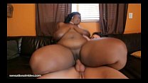 Sexy Black BBW Lovely Libra Fucks Her Latino Boy Toy