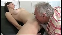 Old doctor fucks the young patient Preview