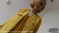 fresh blonde 18yo poppy first time naked video fingering lipstick dildo to orgasm