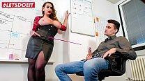 LETSDOEIT - Busty Boss Nina Vegas Special Offer For Horny Partner
