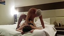 fucked a prostitute in a hotel ! hidden Cam (part 2) cum in mouth