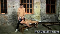 Boy bondage teacher video gay first time For this session of manhood