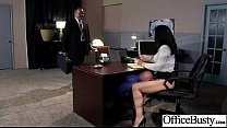 Office Sex Tape With Hungry For Cock Slut Girl (jayden jaymes) clip-19