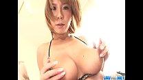 Big Titted Hottie Sumire Matsu Masturbates - More at javhd.net