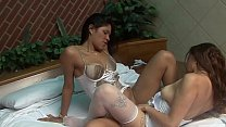 TWO HOT GIRLS RUBBING THE PUSSY ON THE MOTEL WAITING FOR A VERY THICK PICK TO BREAK THEIR BUTTERFLY