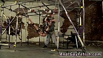 Jerk off bondage movies gay xxx The strung up dom has a need to jack