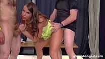 Busty German slut is the hardcore gangbang queen - alina aldamen thumbnail