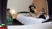 pillada en un hotel una pareja tiene sexo para dos mirones sin saber que les graban GUI041 preview image