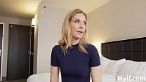 MILF Blows Her Boss To Keep Her Job- Mona Wales