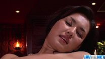 Maria Ozawa receives pleasure down her hairy love hole