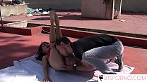 BTSporno-Rooftop blowjob with sexy spinner Ferr Lima