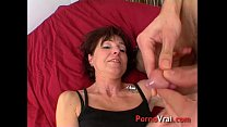 Mature ass fucked by a youngster she cums !! French amateur