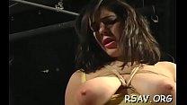 Nipple pinching on a roped angel Vorschaubild