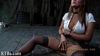 Intense punishment for girl