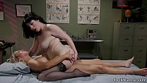 Shemale nurse fucks babe without sex control