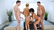 Image: Foursome Massage - Veronica Avluv, Alexis Fawx