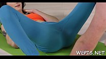 Cheerful Nolita's poontang is drilled