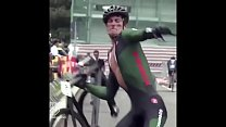 Cyclist With a Great Dick