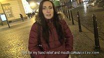 Czech amateur banged in public pov Preview