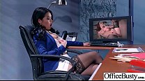 Round Big Tits Girl (Cindy Starfall) Get Banged In Office clip-23