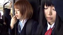 schoolgirl bus japanese chikan 2 video