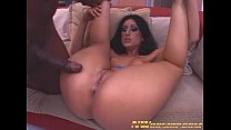 latina girl with round ass rides big black cock...
