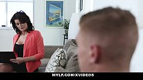 MYLF - Sexy Cougar Therapist Gets Titty Fucked By Hot Patient - 69VClub.Com