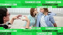 Daddy Tony cock feeding Nicole Bexley