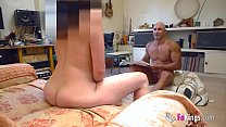 I fucked my big assed Milf painting model!!! thumbnail