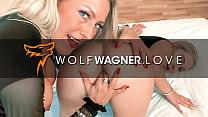 Lesbo LENA & LANA go on naughty blind date (FULL SCENE)! ▁▃▅▆ WOLF WAGNER LOVE ▆▅▃▁ wolfwagner.love