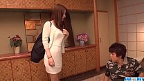 Screenshot Aya Saito feels  excited and aroused along two oused along two m
