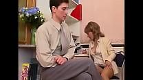 Office Pantyhose Milf Teases and Fucks pornhub video