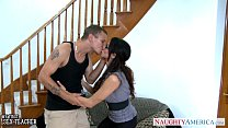 Sex teacher Ariella Ferrera take cock outdoors