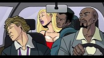 Interracial Cartoon Video