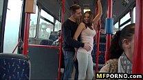 Fucking a teen on public bus Bonnie Shaiww 1 preview image