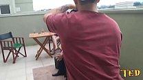Um pouco de rola por trás das câmeras durante as gravações - Dog Aloy - Joy Cardozo - Pernocas - Sandro Lima - Capoeira - Empusa