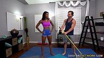 Download video bokep Fake Yoga Teacher Fucks Busty Ebony Nadia Jay 3gp terbaru